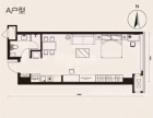 东港 绿地中心 精装修 1室 58平 拎包入住 随时看房绿地中心