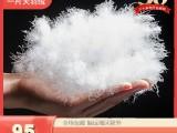 美標95標準白鵝絨清潔大朵水洗羽絨服裝標準羽絨填充物量大從優