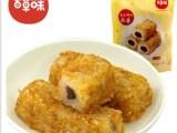 百草味麻薯 红豆馅黄金椰丝麻薯210g台式风味特产零食糕点批发