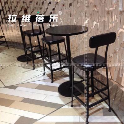 西安西餐厅吧桌定制厂家直销