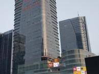 福田卓越城广告字LOGO前台字玻璃贴膜喷绘海报上门服务