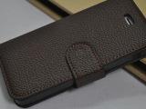 iphone5 荔枝纹皮套 左右开荔枝纹手机套 保护套 苹果5代