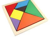 一元儿童玩具拼图拼板七巧板脑力开发玩具儿童益智玩具混批过家家
