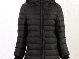 韩国外贸原单正品新款秋冬装保暖修身显瘦连帽棉衣羽绒服中长款女