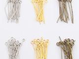 雅亿DIY饰品配件批发 9形针 九字针 手工制作材料串珠100个