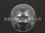 生产供应 高品质圆形led灯罩 吹制玻璃