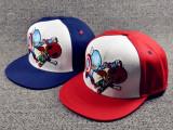 外贸儿童棒球帽平沿帽美国队长嘻哈卡通奥特曼帽子速卖通货源帽子