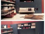 创意家居书柜书桌一体床沙发床钢琴床壁床隐藏床多功能隐形床