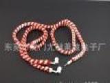 专业研发生产 MP3入耳式耳机 绕线耳机 彩色编织绳耳机 圣诞耳