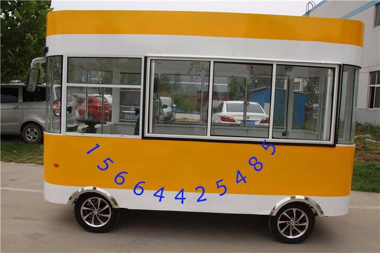 油炸电动餐车 麻辣烫小吃车 早点车 早餐车