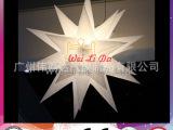 【厂家直销】 广告产品 灯光色彩缤纷美丽 充气异形不规则舞星