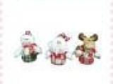 供应圣诞礼品 圣诞老人雪人鹿装饰品