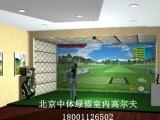 红外单屏模拟高尔夫设备