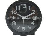 8103BU 厂家直销韩版糖果色圆形立体字BB闹钟 可贴钟面 欢