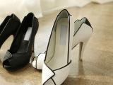 帛莱美专柜正品2014新款女鞋夏季欧洲站鱼嘴高跟细跟防水台凉鞋潮
