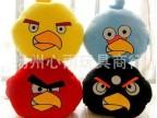 新款愤怒的小鸟Angry birds 毛绒玩具公仔 暖手捂靠垫/抱枕