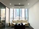 朝陽公園 地鐵直通大堂 精裝帶家具 正對電梯 5A級寫字樓