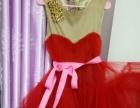 新娘妆顺带的婚纱礼服