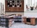时尚板式老板桌总裁大班台现代简约经理主管办公桌椅