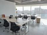 杭州新天地共享办公室,装修漂亮大气