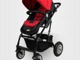 雅贝婴儿推车高景观婴儿车避震双向可坐躺轻便折叠童车手推车厂家