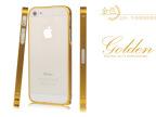 IPHONE5S外壳 金属边框保护套 0.7MM超薄土豪金苹果手机保护壳