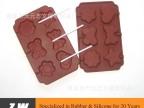 硅胶圆形棒棒糖巧克力模