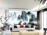 客厅电视机背景墙贴 深圳个性墙纸定做 罗湖精美家居墙纸供应