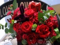 七夕节鲜花速递同城配送包邮送货上门表白花束