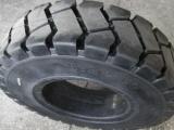 前进叉车充气轮胎250-15实心工程轮胎