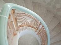碧桂园别墅楼梯护栏客厅装饰壁画精美扶手复古屏风订做