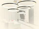厂家直销高档现代客厅简约led吸顶灯/高端时尚亚克力客厅灯卧室灯
