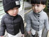 热批儿童保暖棉衣中小童宝宝冬款外套  童装羽绒棉袄棉服批发