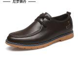 尼罗狮丹温州品牌男鞋男士外贸英伦休闲皮鞋手工真皮鞋子代发1532