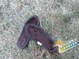 冬季毛绒加厚鞋垫 学生儿童竹炭鞋垫 除汗