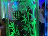 内雕刻钢化玻璃 发光艺术玻璃隔断