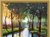千颜画语 数字油画 DIY油画 彩绘 丛