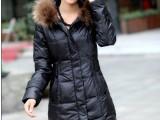北京羽绒服定制批发  中长款女式羽绒服批发  加工女式羽绒服厂家