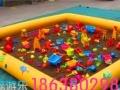 充气城堡儿童滑梯大型游乐设备 支架水池碰碰 充气水池手摇船
