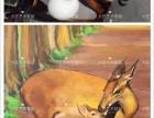 大匠艺术壁画 墙绘 3d画案例