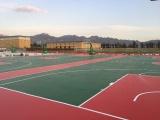 跑道,硅PU篮球场,EPDM塑胶地面铺设