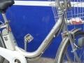 日本内7速助力自行车,电池是松下的本人不骑了,转让。非诚勿扰