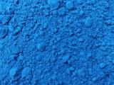 河南駐馬店 耐高溫氧化鐵藍顏料 彩色瀝青路面用鐵藍 著色力強