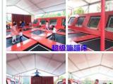 抖音儿童互动娱乐项目大型蹦床粘粘乐球幕影院发光沙袋
