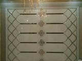 焕彩 厂家定制艺术玻璃拼镜走廊餐厅背景墙装饰时尚拼镜