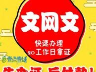 浙江网络文化经营许可证代办 浙江文网文办理