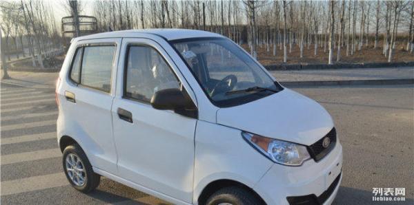 北京道爵圆梦者电动车电动四轮车老年代步车电动汽车可试驾高清图片