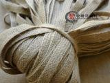 1~2厘米宽扁麻多股麻绳 DIY编织工艺纺织辅料高档黄麻织带加厚