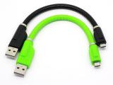 microUSB支架线三星手机多功能USB硬质支架式车载充电数据