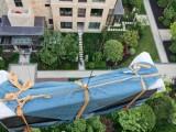 上海玻璃吊装-上海沙发吊装-上海床垫吊装-别墅吊大理石